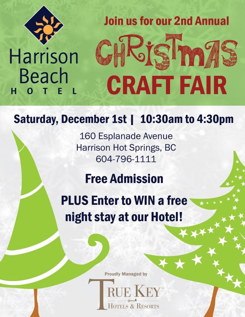 2nd Annual Christmas Craft Fair @ Harrison Beach Hotel Meeting Room